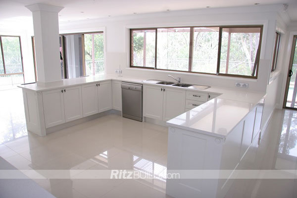 Ritz Kitchen Cabinet, American Style High Gloss Kitchen Furniture