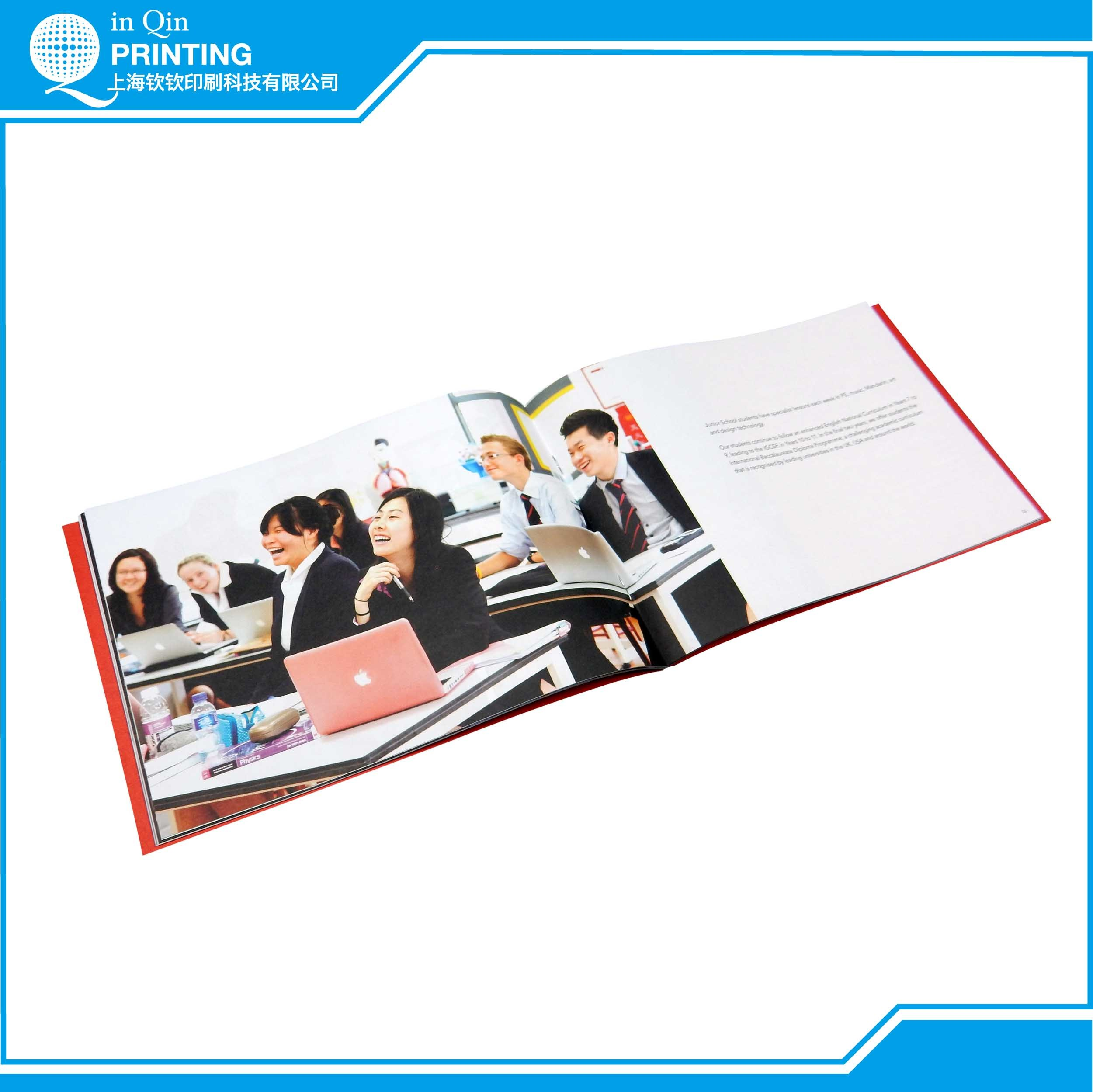 A4 Full Color Catalogue Printing and Printing Service