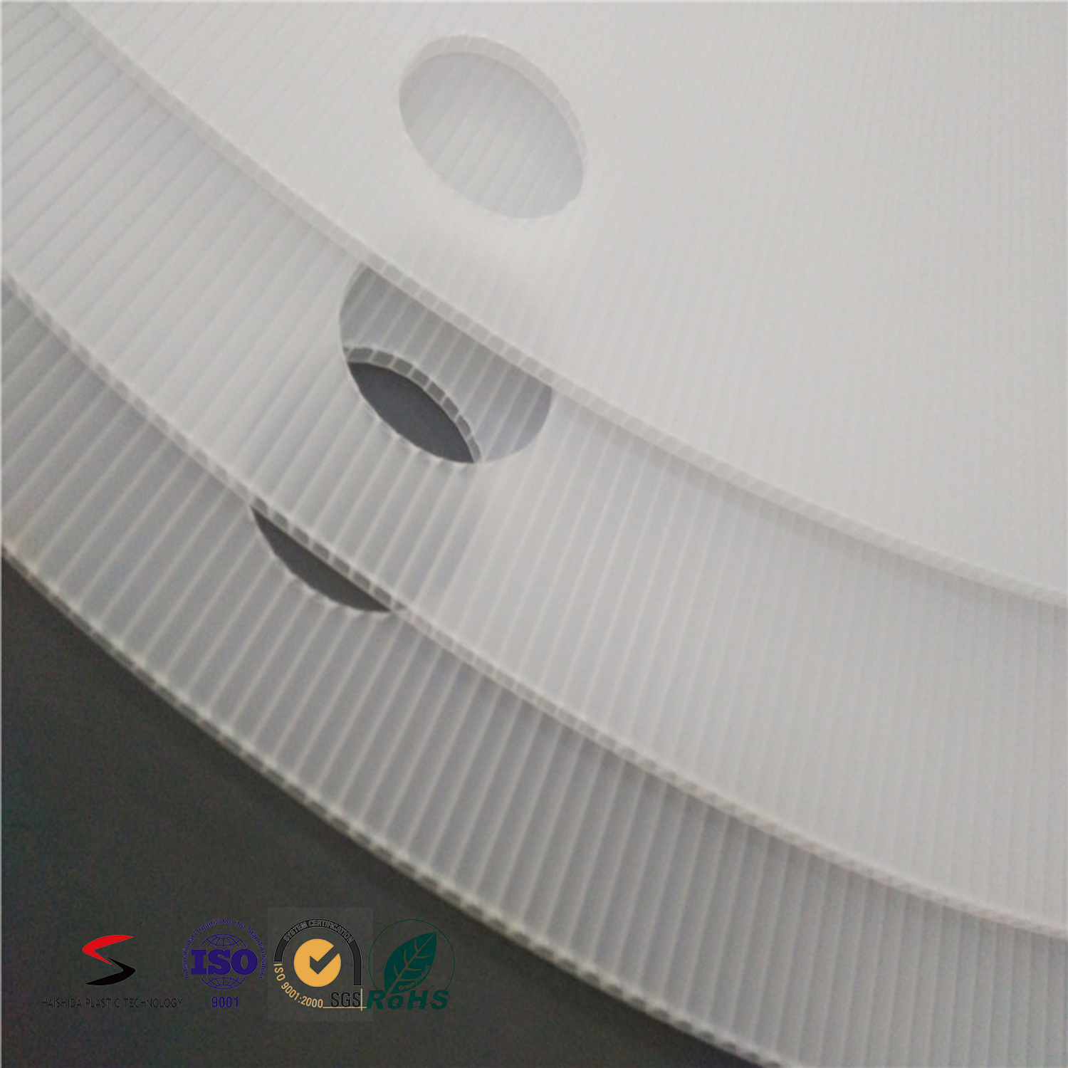 Environment Friendly PP Material Waterproof Disc Plate Sheet