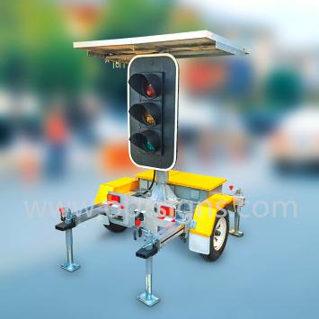 Solar Power Portable Traffic Signals