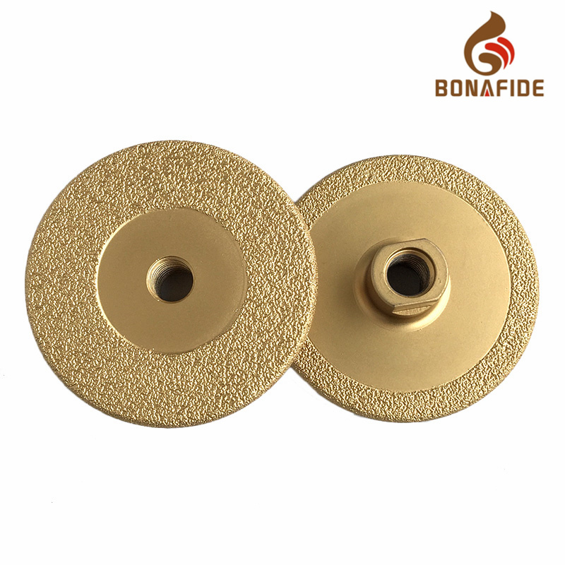 Cup Type Vacuum Brazed Diamond Grinding Wheel