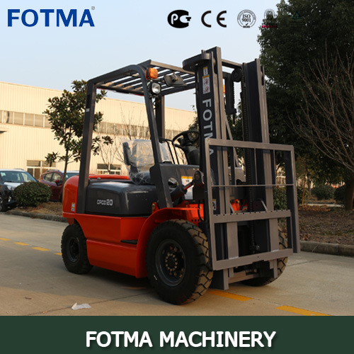 China Fotma Hangcha Gas/Diesel/Electric/LPG Forklift Truck