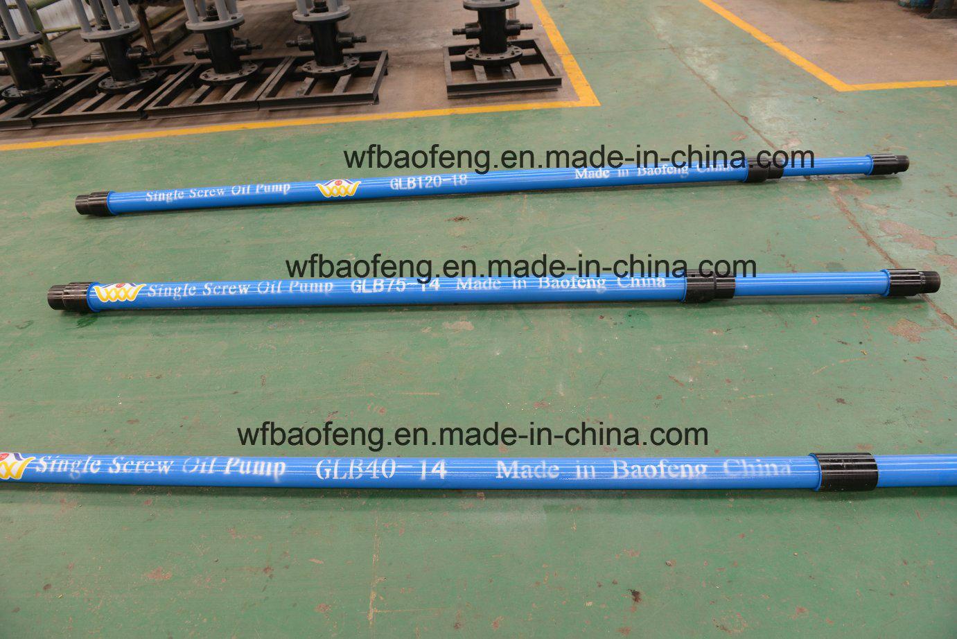 Oil & Gas Equipment Single Screw Pump Glb75-47 PC Pump Fittings Flange Tees Rods