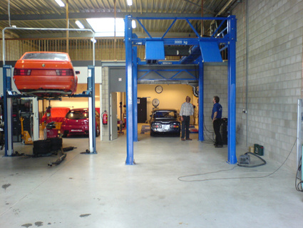 High Lifting Height 4 Post Car Lift (AA-4P35C)