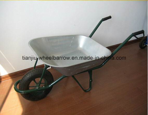 Galvanised Wb6400 Wheel Barrow Tray
