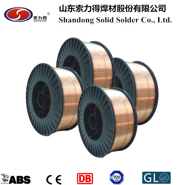 CO2 Gas Shield Welding Wire Er70s-6 MIG Welding Wire/Welding Materials