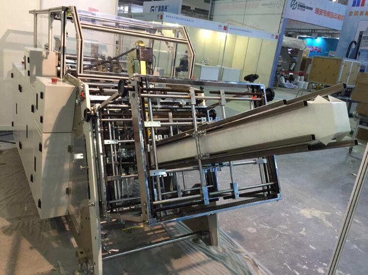 Rtzf800 Automatic PE Coated Paper Hamburger Box Forming Machine