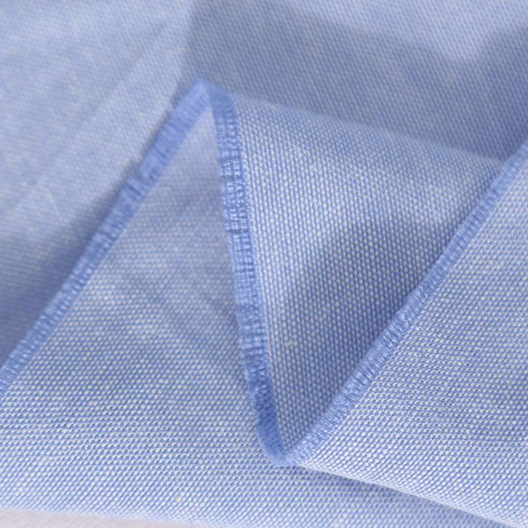 CVC Cotton/Poly 50/50 125GSM Oxford Shirt Fabric