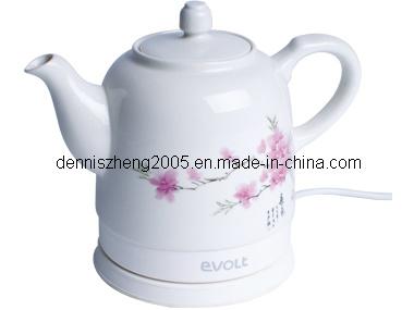 Teapot Ceramic Electric Kettle, Cordless Water Tea, 1500ml