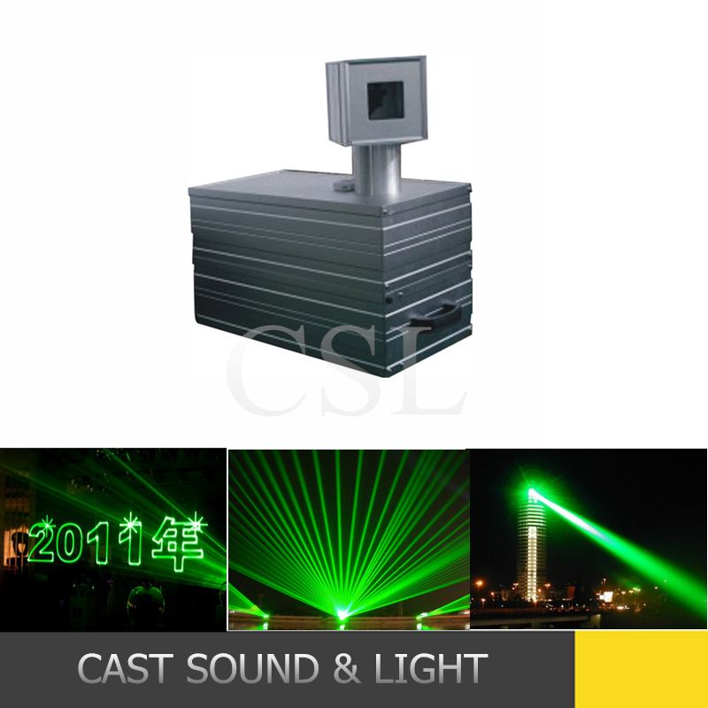 High Power Laser Show System Green Laser