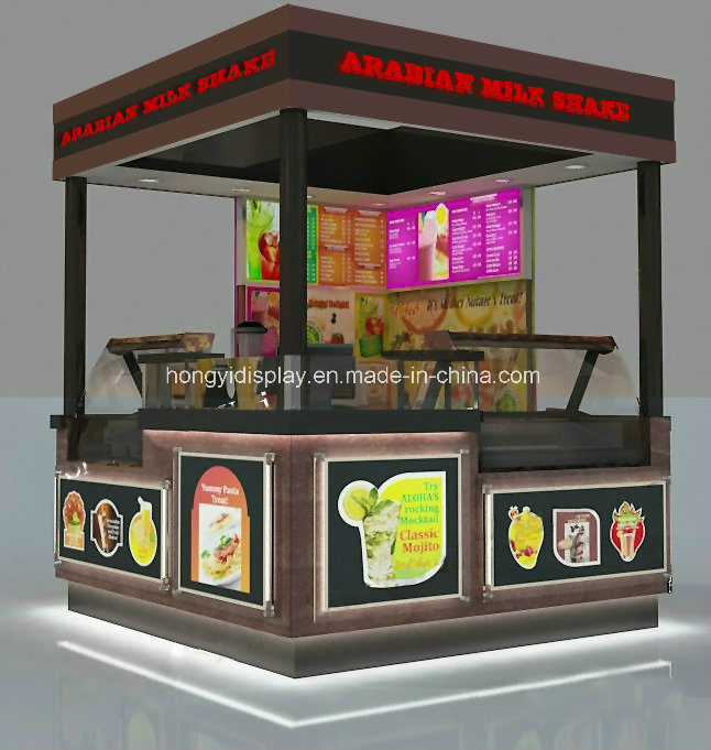 Unique Design Outdoor Kiosk/ Outdoor Fast Food Kiosk/ Modern Street Food Kiosk for Sale