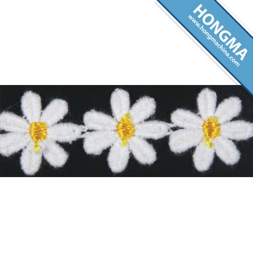 Floral Chemical Decorative Lace Trim