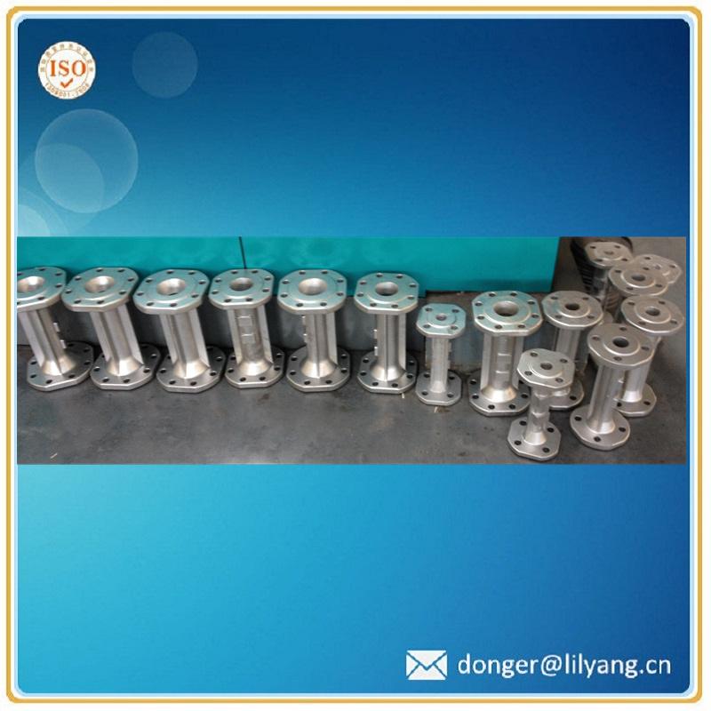 Casting Stainless Steel Pipe, SUS304 Water Meter Body Flange Type