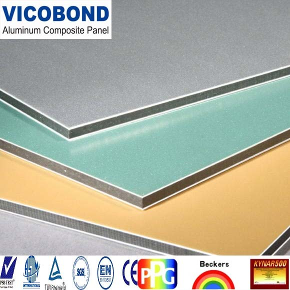 Exterior Wall Cladding PVDF Coated Acm