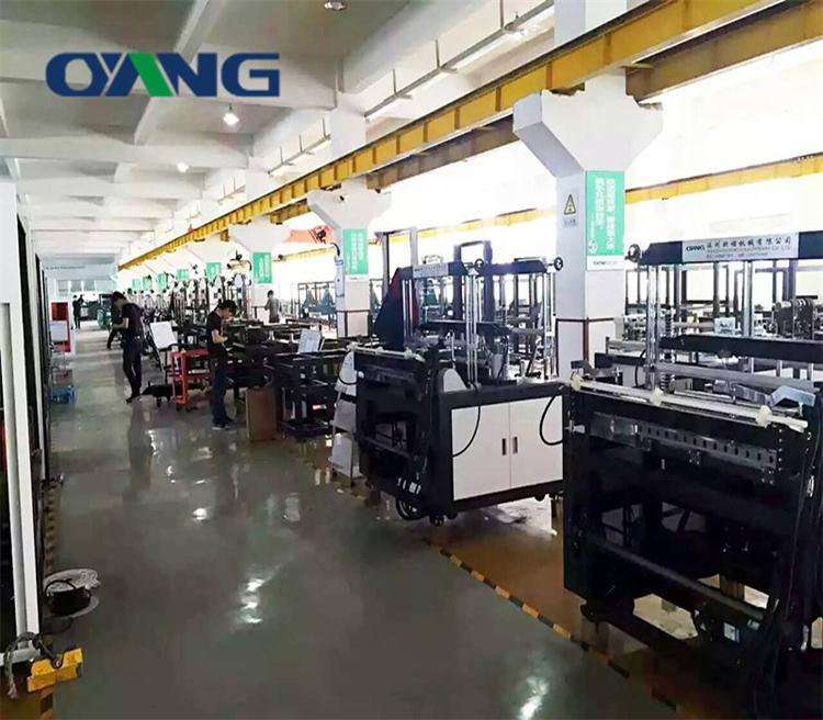 Fully Automatic Nonwoven Bag Making Machine with Online Handle