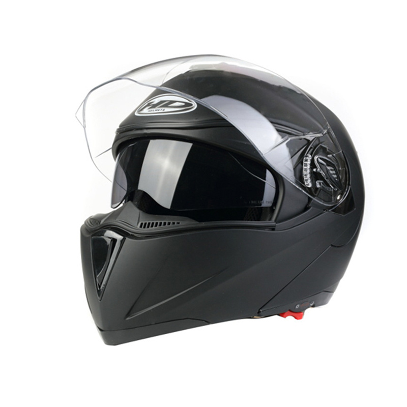 ECE Approval Flip up Style Double Visor Motorcycle Helmet (AH009)