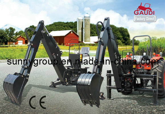 CE Approved Famous Brand Backhoe (with hydraulic side shift)