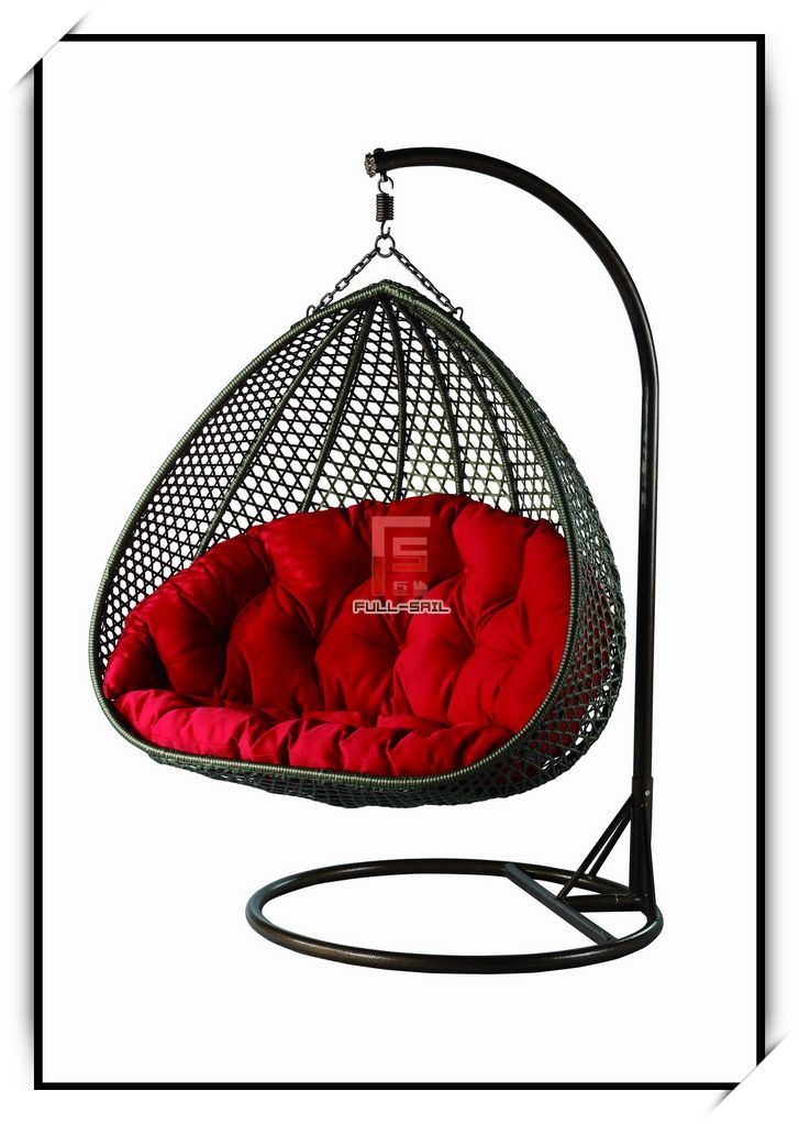 china wicker furniture rattan swing chair fs 9522. Black Bedroom Furniture Sets. Home Design Ideas