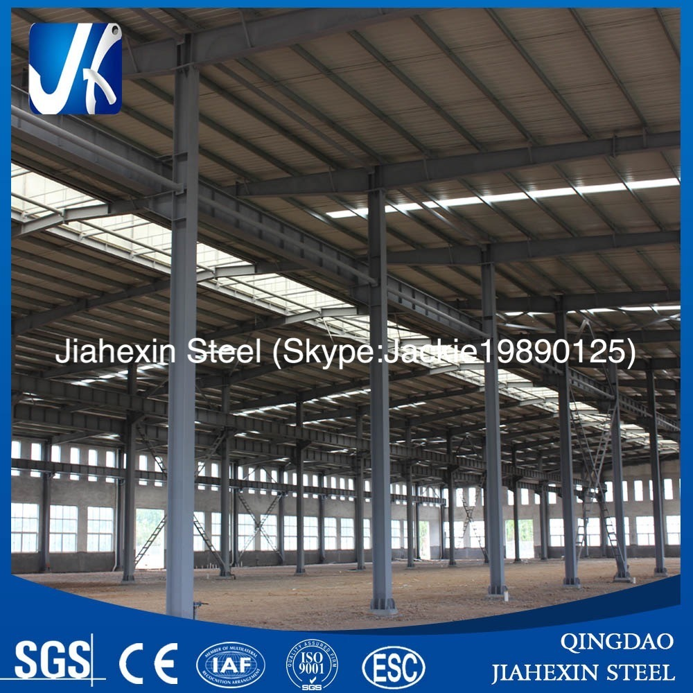 Pre-Engineering Structural Steel Fabrication Factory Building