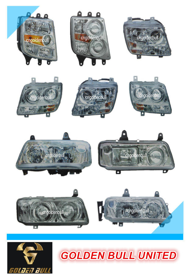 Truck Parts Auman H2 Vacuum Headlamp (double Circle)