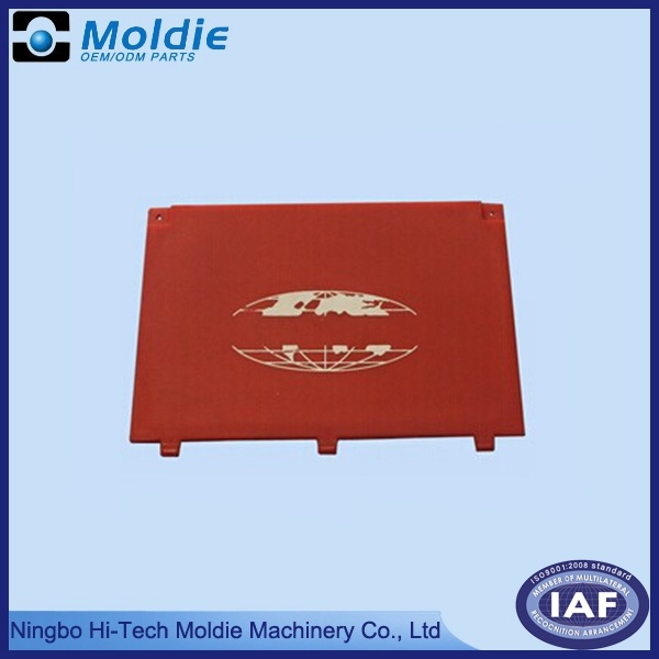 Red Color PP Injection Moulding Plastic Parts