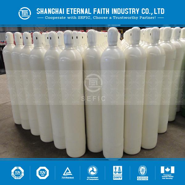 Seamless Steel Industrial Welding Oxygen Cylinder (EN ISO9809-1)