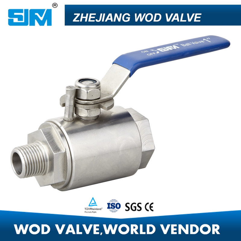 2PCS Forged Steel Ball Valve 6000psi