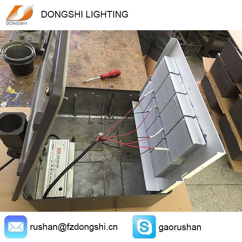 120W IP65 Meanwell Driver LED Shoebox Flood Light