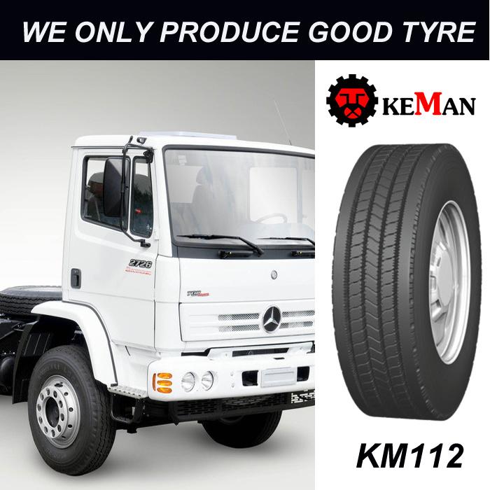 Km112 Steer Truck Tire, TBR Tire
