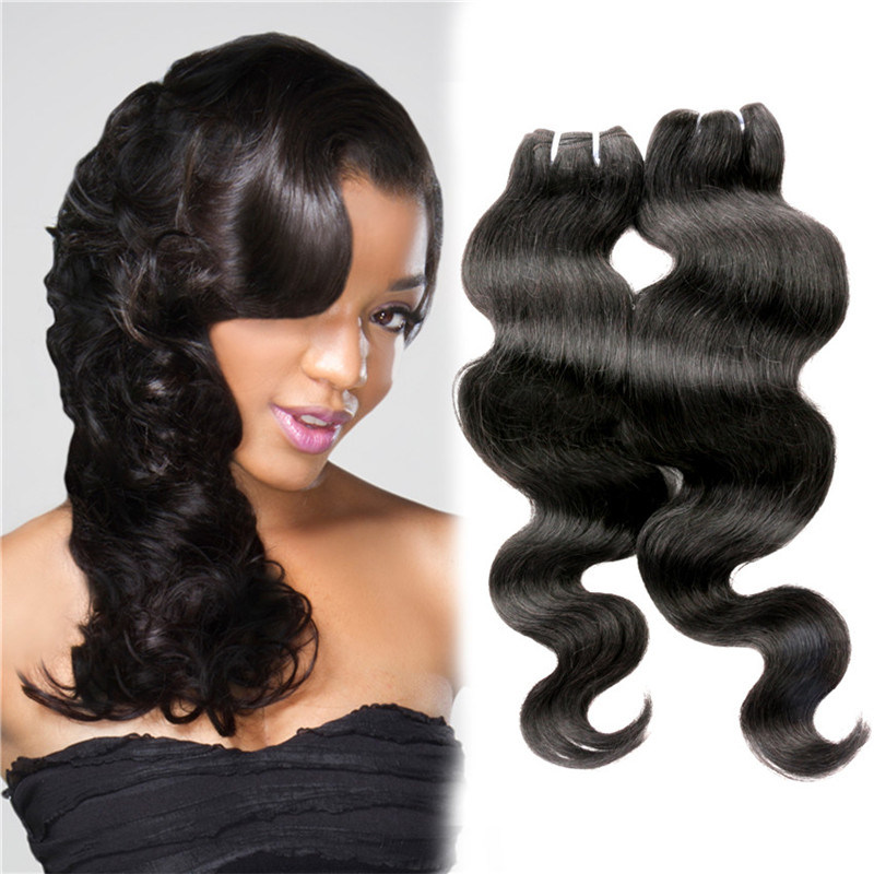7abrazilian Virgin Hair Body Wave Human Hair Weft with Closure Lace Closure with Bundles Virgin Brazilian Hair 4*4 Lace Closure
