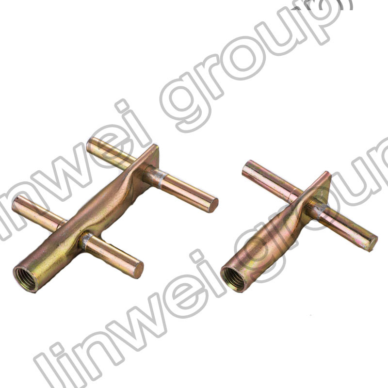 Double Cross Pin Lifting Insert in Precasting Concrete Accessories (M16X135)