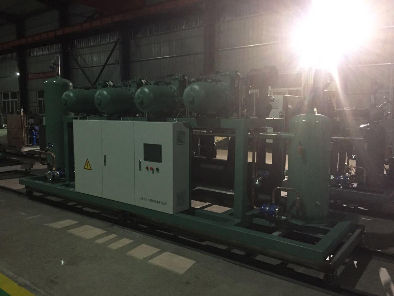 Bitzer Low Temperature Screw Parallel Unit Refrigeration Compressor