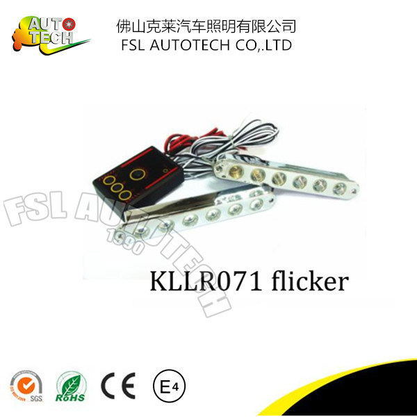 LED Auto Daytime Running Light with Flicker Parts