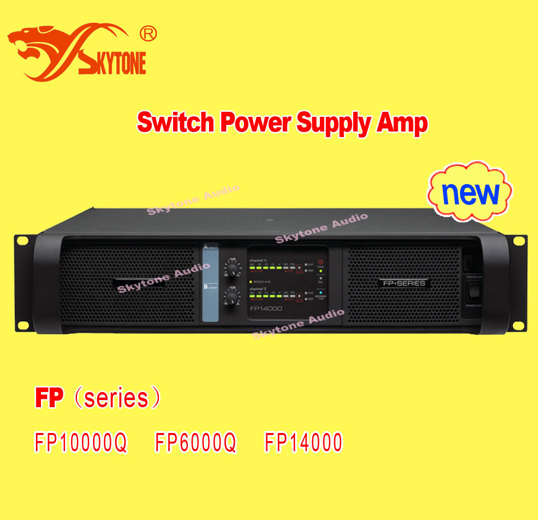 Lab Gruppen Fp14000 Style Digital Power Amplifier (2X7000W, 2Ohms)
