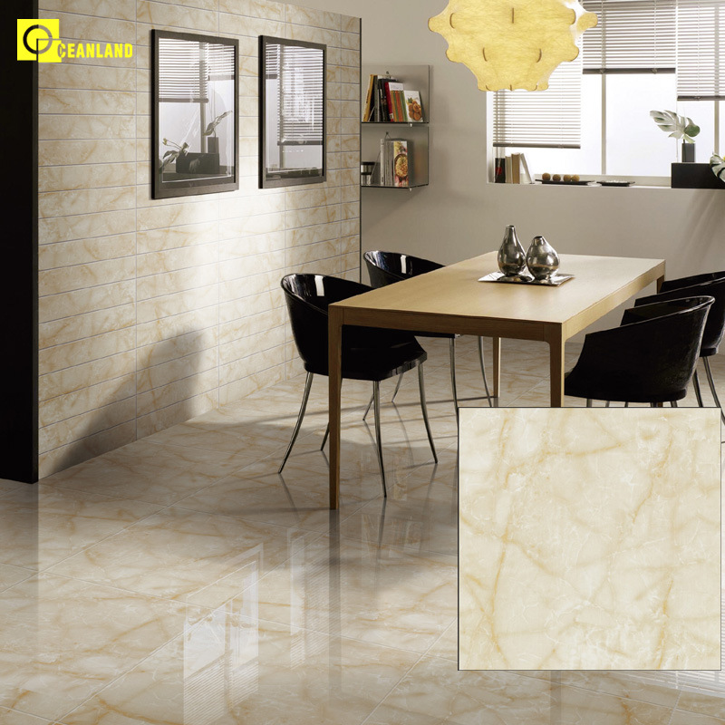 High gloss flooring tiles