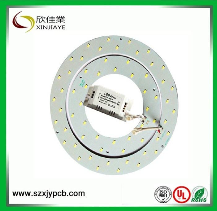 LED Round Aluminum PCB Assembly Supply