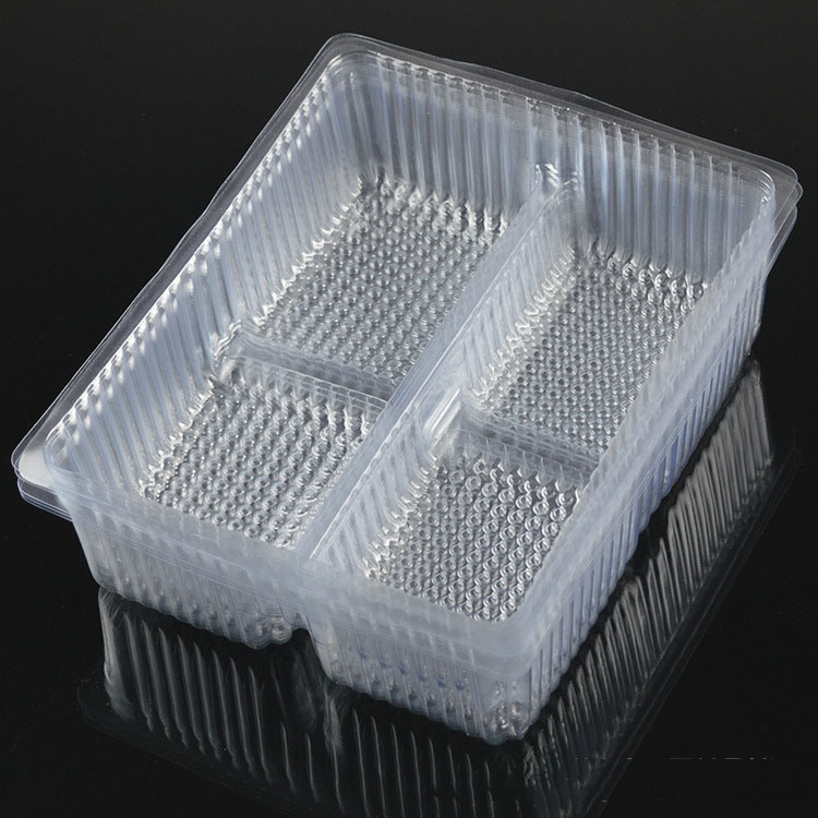factory OEM disposible food fresh clear pet/PVC/PS/plastic blister tray