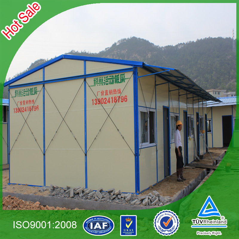 Low Cost Portable Prefab House for Construction Site (KHK2-001)