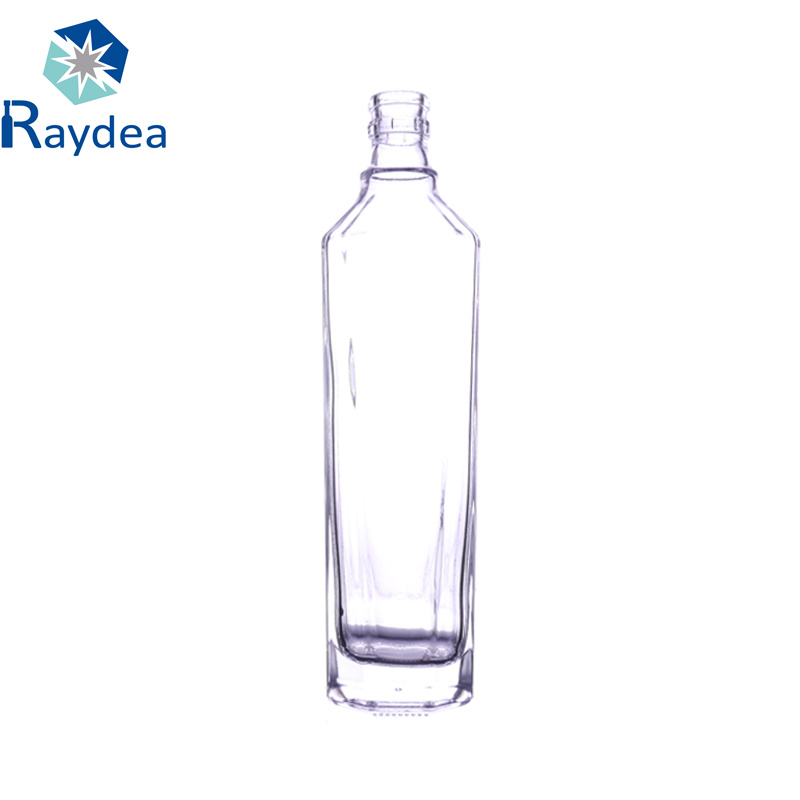 275ml Clear Glass Wine Bottle in Crystal Flint