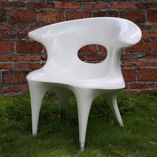 China Fiberglass Outdoor Chair P12 China Outdoor