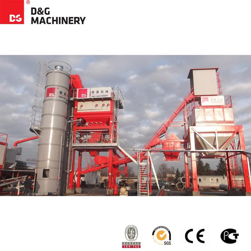 100-123 T/H Hot Batching Asphalt Mixing Plant / Asphalt Plant for Road Construction