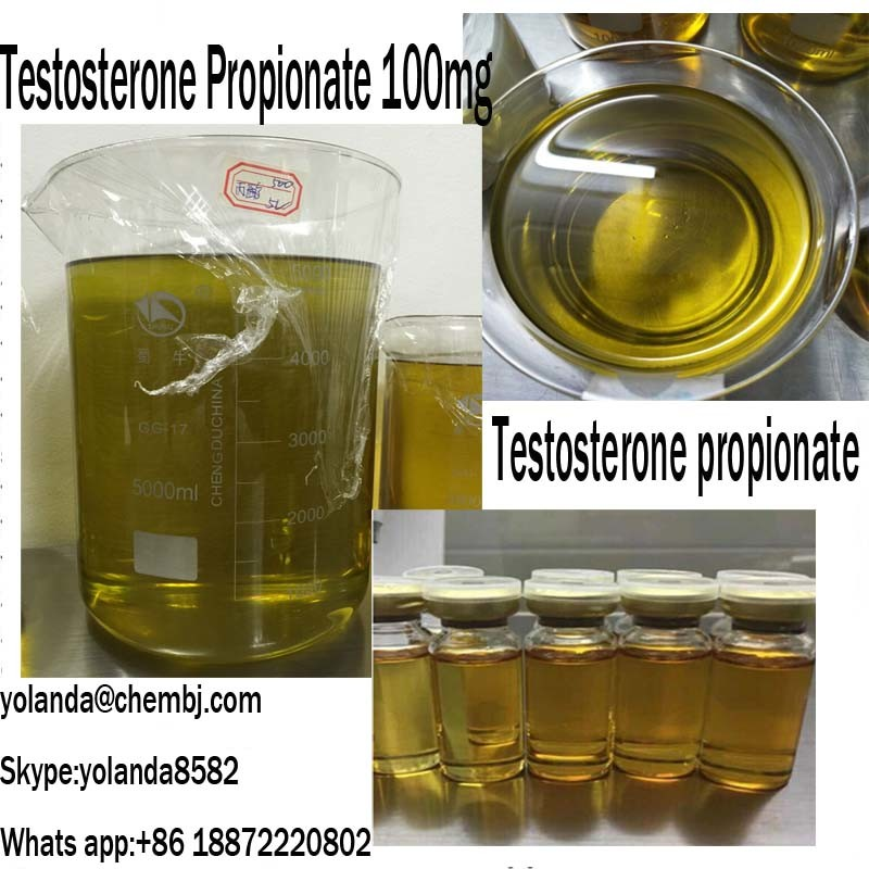 Top Quality Semi Finished Steroid Testosterone Propionate with 100mg for Fast Musle Gain