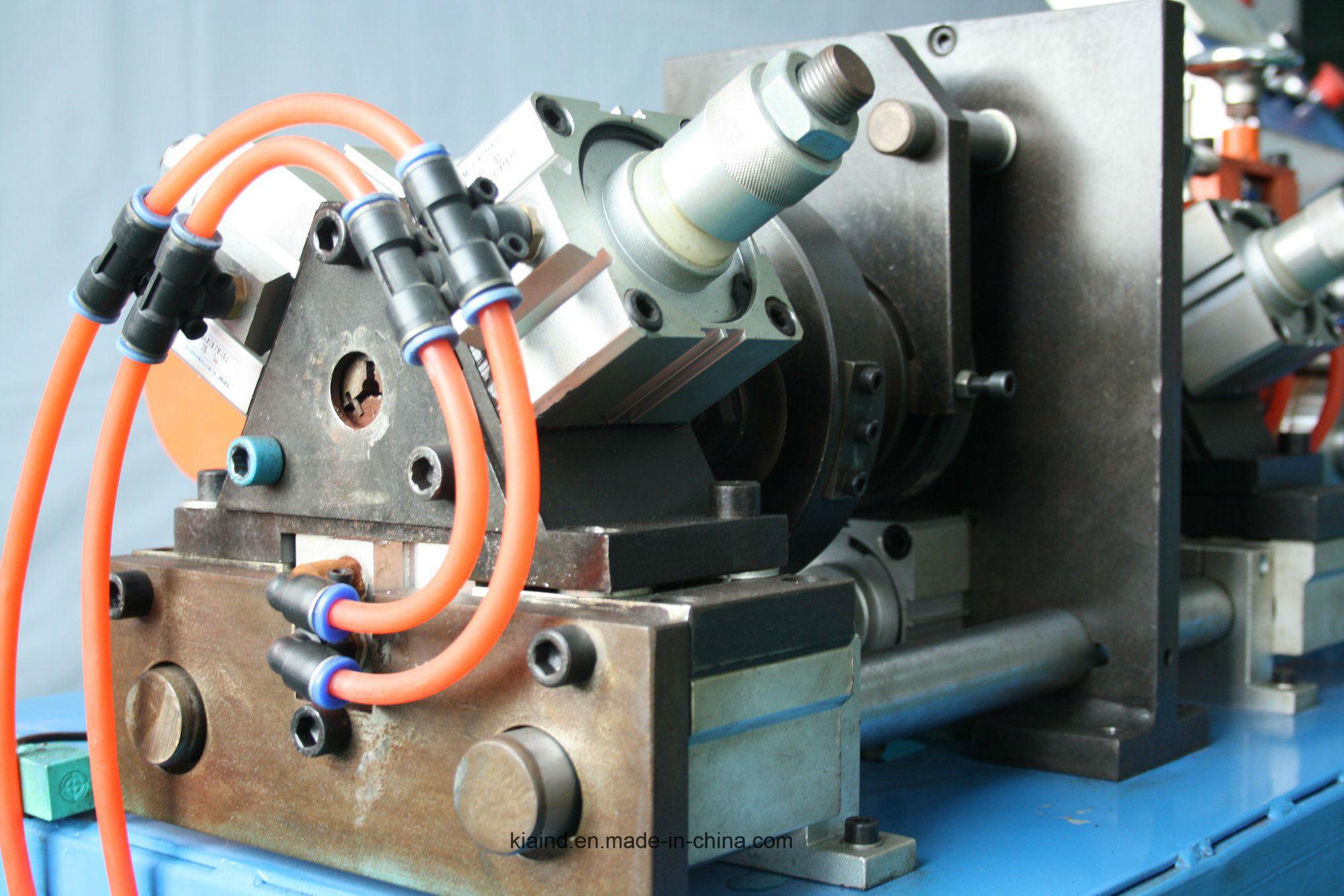 Automatic Tube Straightening and Cutting Machine