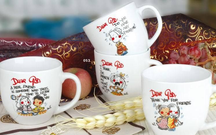 Porcelain Mug (HJ)