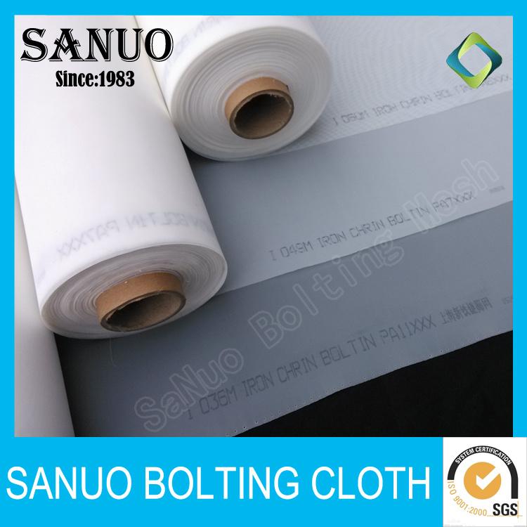 High Tension Polyester Silk Screen Mesh Fabric for Printing Pet36/100mesh
