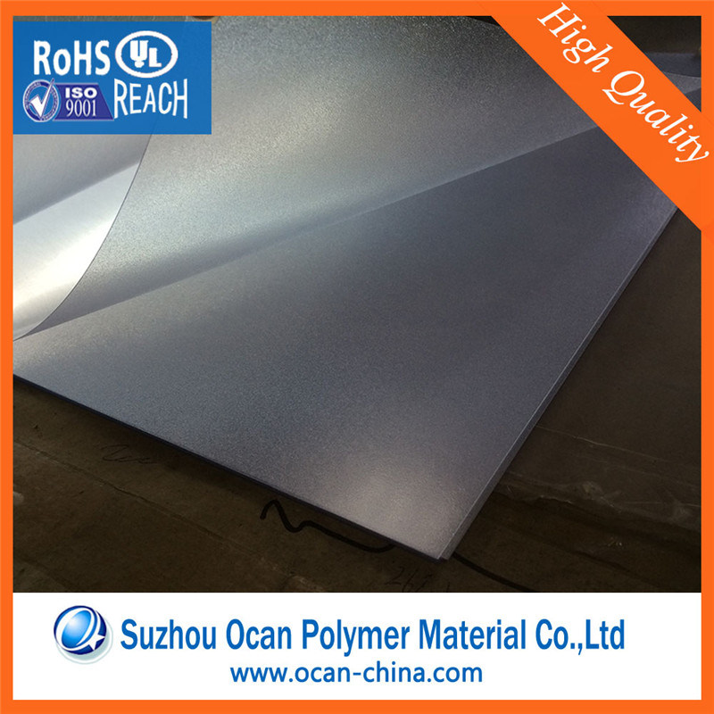 Thin Hard Matt Clear Plastic PVC Sheet for Screen Printing