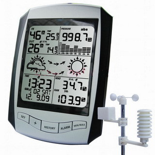 Wireless Professional Weather Station with Rcc Clock (AW001)