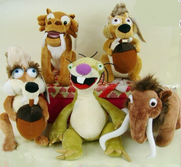 Toys From Ice Age 1 : China ice age plush toys