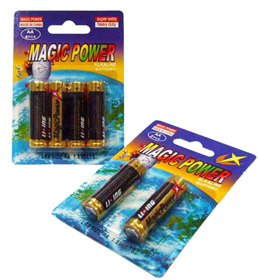 LR6 AA Size Alkaline Battery (Magicpower)