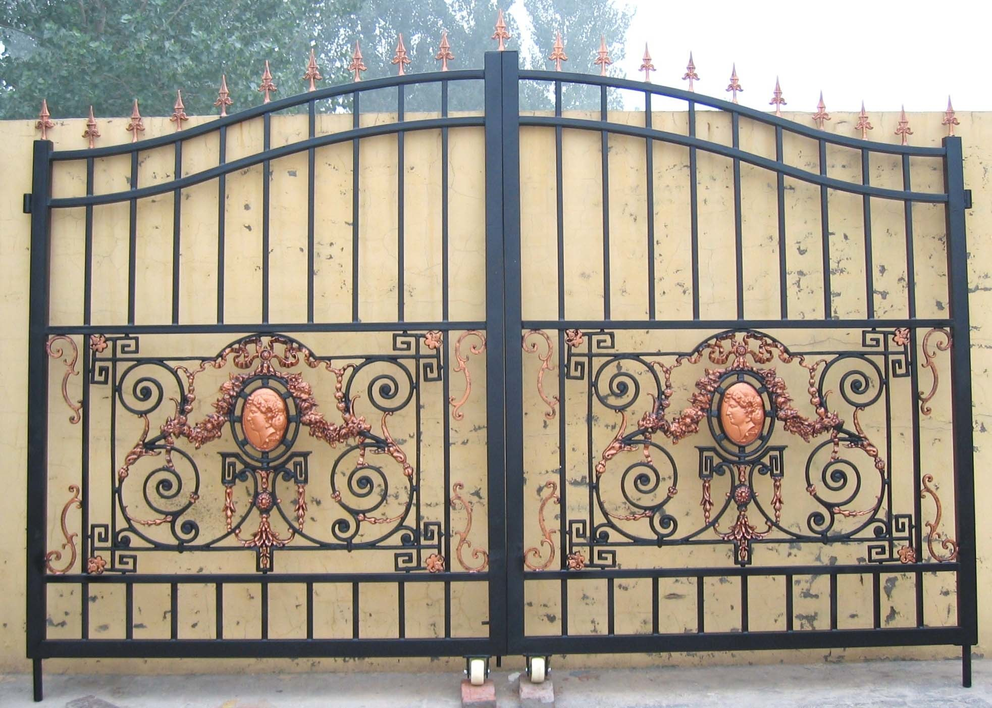 Wrought Iron Gate Designs